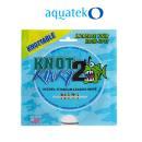 Aquateko Knot 2 Kinky 1x1 Titan Vorfach  - 15,8 kg - 35...