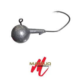 Matzuo Sickle Hook Rundkopf Jig