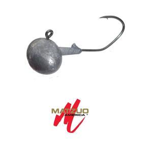 Matzuo Sickle Hook Football Jig Größe 3/0