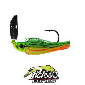 Picasso Lures Shock Blade 7 Gr. Fire Tiger