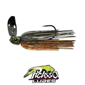 Picasso Lures Shock Blade 10,5  Gr. Green Pumpkin Amber Red