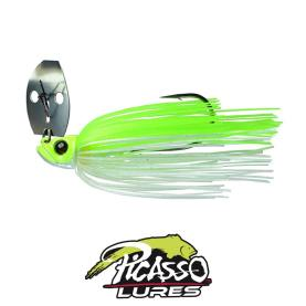 Picasso Lures Shock Blade 10,5  Gr. Chartreuse White Nickle Blade